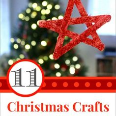 11 Christmas Crafts to Make with Your Kids This Month