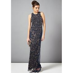 Buy Phase Eight Collection 8 Paola Sequin Maxi Dress, Navy/Bronze from our Women's Dresses Offers range at John Lewis & Partners. John Lewis, Buy Dress, Dress Up, Phase Eight Dresses, Maid Of Honour Dresses, Bronze, Mesh Dress, Occasion Dresses, Dresses Online