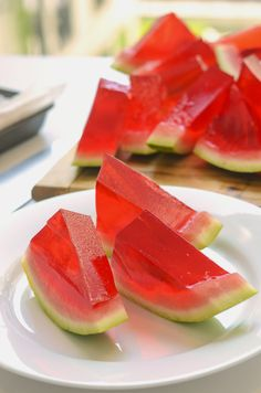 XXL Watermelon Jell-O Shots | 31 Delicious Things To Cook In July