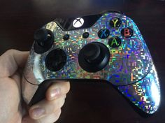 Holographic Xbox One Controller Skin by SlingshotCreative on Etsy