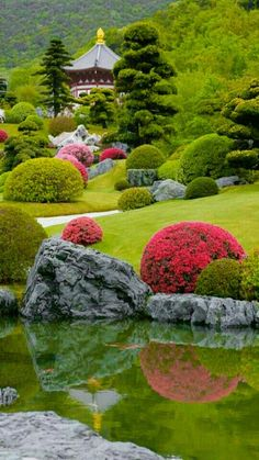 Japanese Garden the real japan real japan japan japanese guide tips resource tips tricks information guide community adventure explore trip tour vacation holiday planning travel tourist tourism backpack hiking Beautiful Landscapes, Beautiful Gardens, Japan Garden, Garden Waterfall, Japanese Garden Design, Japanese Gardens, Chinese Garden, Garden Care, Botanical Gardens