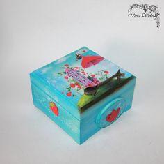Exklusive Teebox Tea box Tee Tea Teebeutel von UltroViolet auf Etsy