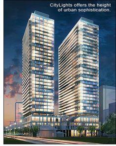 City Lights offers the height of urban sophistication.  #condolife #condominiumsburlington