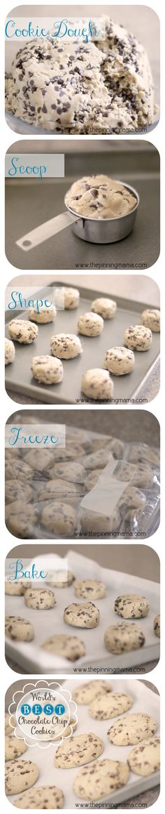 I have been searching for a THICK chocolate chip cookie recipe forever!  This is pretty much the one I have been searching for my whole life!