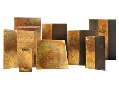 Carmel Country Club - Country Club Menu Covers - Collection of Handcrafted Copper Menu Covers with Sunbubble Finish