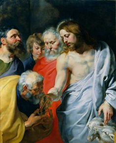 1577 - 1640 Peter Paul Rubens, Christ's Charge to Peter