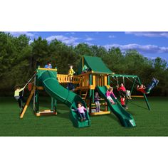 Gorilla Playsets Savannah Swing Set with Radical Tube Slide $1,799.99 shipping included.