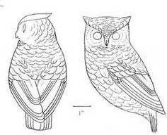 free printable wood carving patterns | owl wood carving patterns free Car Tuning