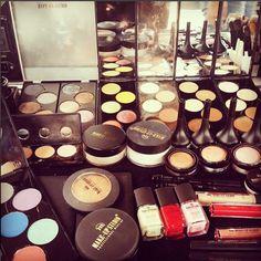 All kind of goodies .... #makeupstudio