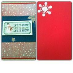 Julkort Christmascard Scrapcard Scrapbooking