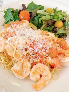 Jeff's Shrimp Pomodoro Recipe | East Dinner | - KristyWicks.com
