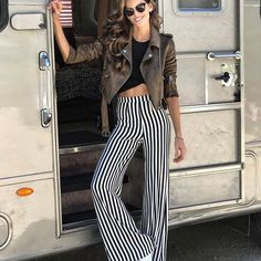 STRIPES + FLARED #CoolLook