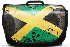 Interchangeable flap for Brompton S-Bag.  Model (Jamaican Flag)  Change in seconds the look of your Brompton S-BAG easily. Simply fitting and tightening the Velcro closures you will have placed his flap.  It is made of high density canvas, which acquires consistency and durability.   Flap suitable for S-BAG models with interchangeable flap.  If you want a flap with a drawing or a personalized picture, you can contact us through our contact section. More info in www.bikebrompton.com