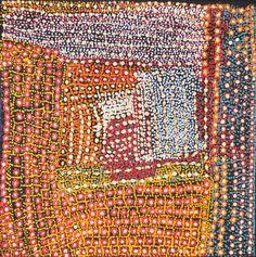 Tommy Mitchell / Wakalpuka, 2011 Inspiration for knitted piece. Aboriginal Painting, Aboriginal Artists, Dot Painting, Indigenous Australian Art, Indigenous Art, Textures Patterns, Print Patterns, Australian Aboriginals, Aboriginal Culture