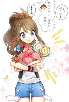 Credits to the artist Pokemon Mew, Pokemon Hilda, Touko Pokemon, Pikachu, Sexy Pokemon, Black Pokemon, Pokemon Comics, Pokemon Fan Art, Cute Pokemon