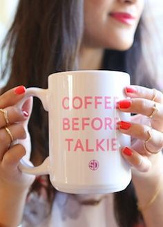 Coffee Before Talkie Mug http://rstyle.me/n/hjub2nyg6