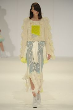 Graduate Fashion Week 2013: De Montfort University - Naomi Lobley