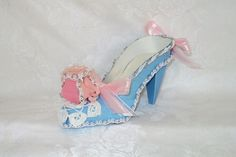 Couture Alice In Wonderland Paper Shoe Art by apreciousmemory, $12.00