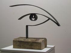 """""""L'essentiel est invisible pour les yeux"""" The Stare.     Manolo Lafora. #SCULPTURE #ART"""