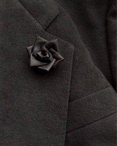 Lapel Pins Mens Lapel Pin Flower Lapel Pin Black Lapel Flower Custom Silk Boutonniere Kanzashi Rose Groomsman Gift For Him Wedding Party by exquisitelapel on Etsy https://www.etsy.com/listing/384808868/lapel-pins-mens-lapel-pin-flower-lapel
