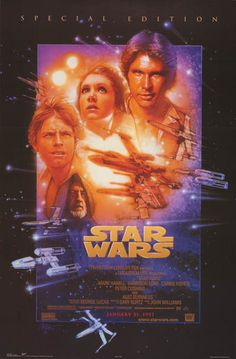 Star Wars Ep IV A New Hope Special Edition Movie Poster 22x34