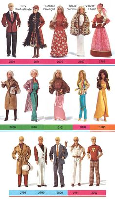 Barbie and Ken Fashions, 1979-80
