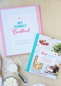 DIY Recipe Binder -FREE with The I Heart Naptime Cookbook... enjoy this helpful…