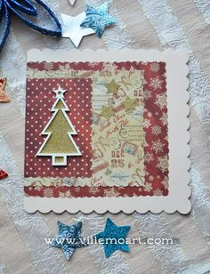 Simple Christmas card. Simple Christmas, Christmas Cards, Ball Jointed Dolls, Art World, Journaling, Kids Rugs, Crafts, Home Decor, Christmas E Cards