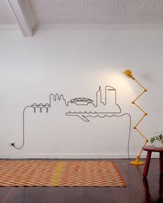 Design Idea for Lamp Cable
