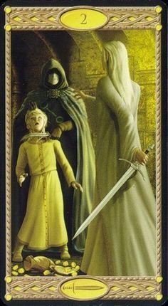 Tarot of the Elves Tarot, Filly, The Elf, Faeries, Elves, Mystic, Fantasy Art, Princess Zelda, Statue