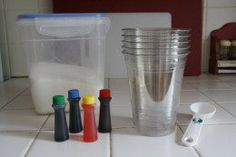 The Density Rainbow is a fun and easy science experiment that can be done at home. It is a great way to introduce kids to science. All you needs is some sugar, water, and food color.
