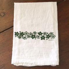Tea Towels  Flour Sack Towels  Dish Towels  Hand by GreenBeeKC