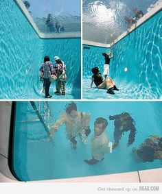 Fake Swimming Pool