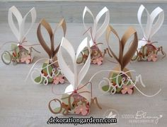Hop mit ❤ für ALLE - Frühlings- und Osterzeit autour du tissu déco enfant paques bébé déco mariage diy et crochet Easter Party, Easter Gift, Happy Easter, Easter Bunny, Easter Table, Easter Decor, Stamping Up, Coloring Easter Eggs, Easter Crafts For Kids
