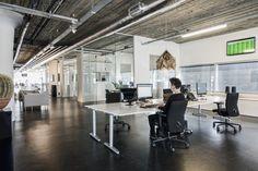 #Eleven: Industrieel kantoor met 'ruimte' voor een fijne sfeer