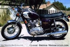 1972 Triumph Trident. I bought this from Buck 1 year before his passing.