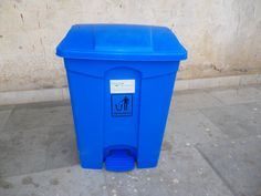 """09958229993 - KC Green Revolution Pvt ltd is the First ever manufacturer of India who produce Wheelie Pedal Bin 55L by injection molding in India. Our Bin is at international quality standards. It is a round shape bin with 17"""" dia and 24"""" height, it is available in Green, Red, Blue, Black, Yellow and grey colors, we can customize the colors as per customers' requirements. This can be used in hospitals for Bio Medical waste, in Hotel kitchens, Corporate offices,"""