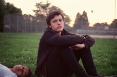 """""""My sister's boyfriend, Fox, on his last day of high school. The sun was setting, and he and his friends were all playing around. I caught him in a moment of reflection."""" By Petra Collins"""