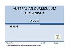 English organiser