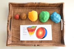 Layers of the Earth Study Using Playdoh