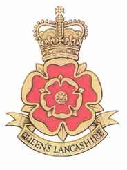 Cap badge of The Queen's Lancashire Regiment. The Queen's Lancashire Regiment (30th, 40th, 47th, 59th, 81st and 82nd Regiments of Foot) (QLR) was an infantry regiment of the British Army, part of the King's Division. It was formed on 25 March 1970 at Connaught Barracks in Dover through the amalgamation of the two remaining Lancashire infantry regiments, the Lancashire Regiment (Prince of Wales's Volunteers) and the Loyal Regiment (North Lancashire).