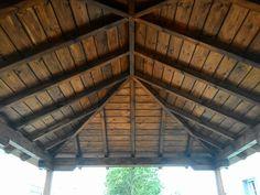 Cenador madera relax jardín Porches, Gazebo, Relax, Outdoor Structures, Patio, Arbors, Wood, Lugares, Front Porches