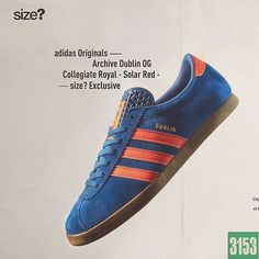 competitive price fd5f8 b84b3 adidas Dublin from the city series is back. Exclusive to  sizeofficial   eukicks