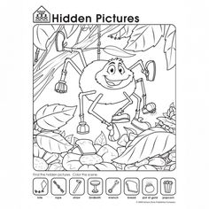 Free Hidden Pictures Worksheets Playfully Challenge Kids to Take a Closer Look | School Zone