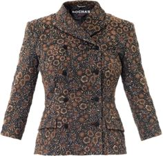 rochas ROC-F-RCB005A-RB305A jackets BROWN