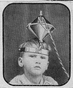 """Boy with device to detect whether he is a """"fake cripple"""" 1934 - The website is a great find - Ptak Science Books Vintage Medical, Vintage Ads, Vintage Photos, Pseudo Science, Science Books, Science Fair, Strange History, Medical History, Tecno"""
