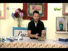 Espazio Ideal 13 Febrero 2017 Paint, Country, Youtube, Craft Videos, Learn To Paint, Craft Tutorials, Hand Art, Mosaics, Atelier