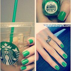 Essie Mojito Madness a.k.a. Starbucks Green!