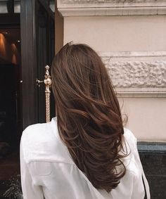 Cabelo Inspo, Aesthetic Hair, Brunette Hair, Brunette Highlights, Brunette Color, Brown Hair Colors, Hair Day, Balayage Hair, Gorgeous Hair