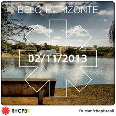 RHCP em Belo Horizonte dia 02 de novembro de 2013